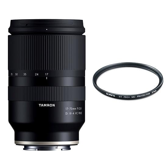 Tamron 17-70mm F2.8 DiⅢ-A VC RXD / Sony E Mount APS-C+プロテクターセット