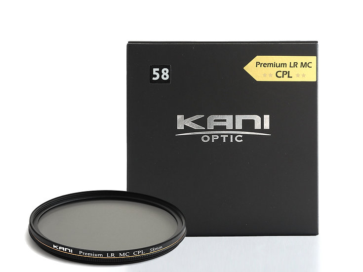 Premium CPL 58mm -Ultra slim model-