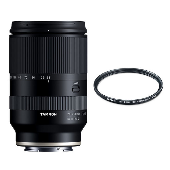 Tamron 28-200mm F2.8-5.6 DiⅢ RXD / Sony E-Mount+プロテクターセット