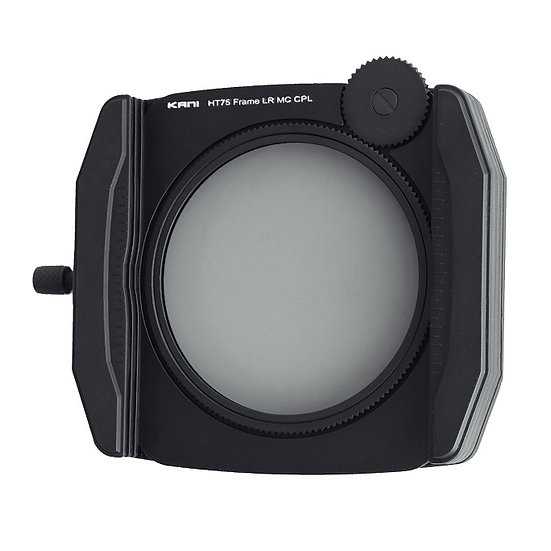 HT75mm Filter Holder + Premium Frame CPL 75x75mm