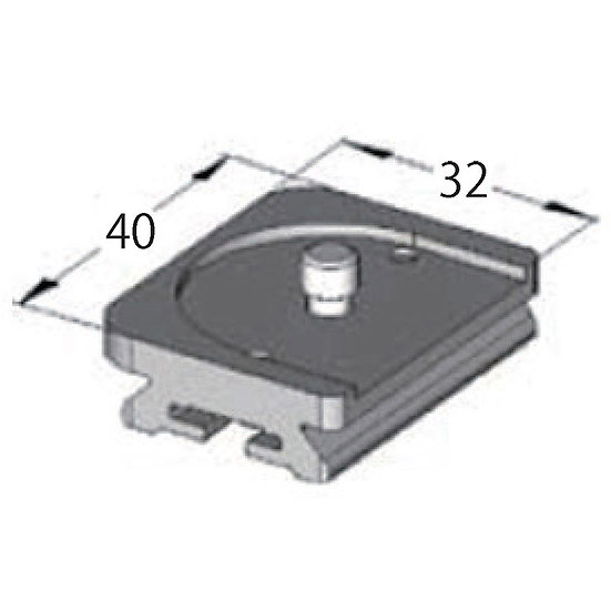 ARCA-SWISS Quick Plate Monoball Fix for LEICA M2-M7