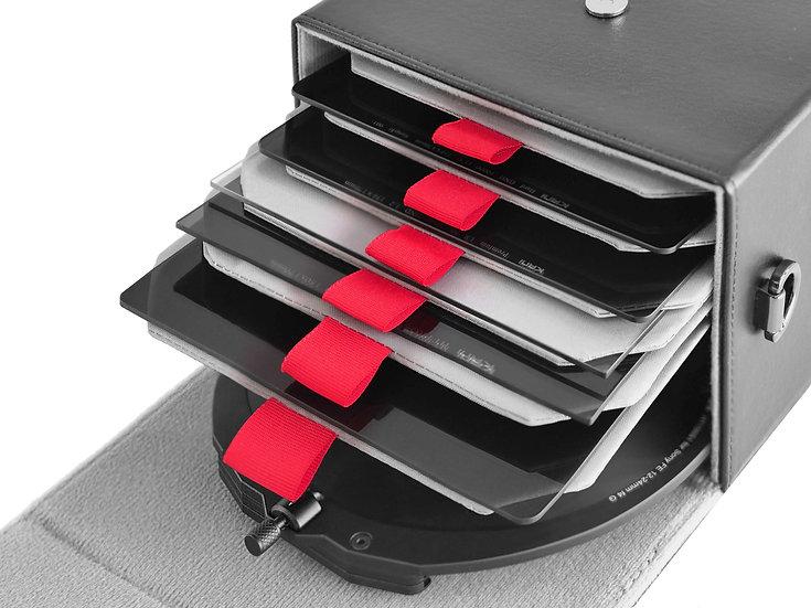 Hard case Filter plus Holder for 150mm
