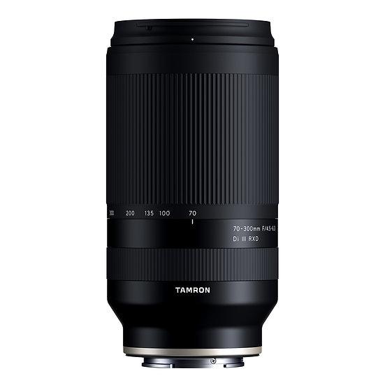 Tamron 70-300mm F4.5-6.3 DiⅢ RXD / Sony E-Mount 35mmFullsize