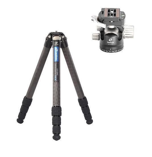 Leofoto LS-324C+LH40LR