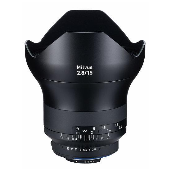 Carl Zeiss Milvus 15mm F2.8 / ZF.2 MF NikonF Mount