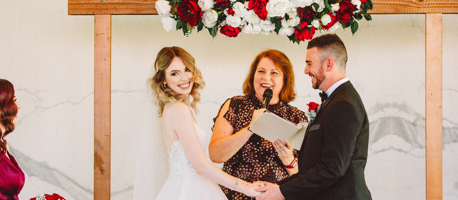 What actually happens in a wedding ceremony?