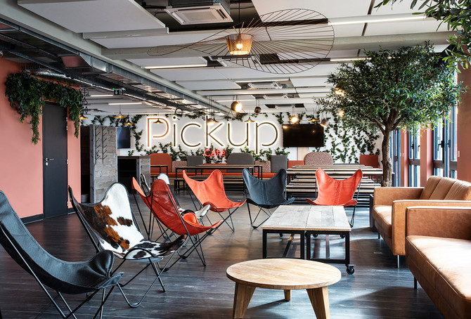 Projet PICKUP pour Séverine de Lanversin Designer d'intérieur et Moore Design