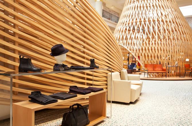 Shooting Pascale Mussard- Boutique Hermès
