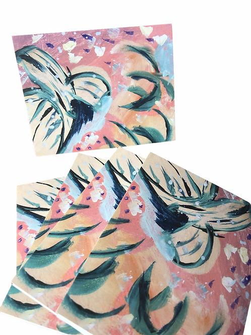 Mini Abstract Series No 24--Notecards