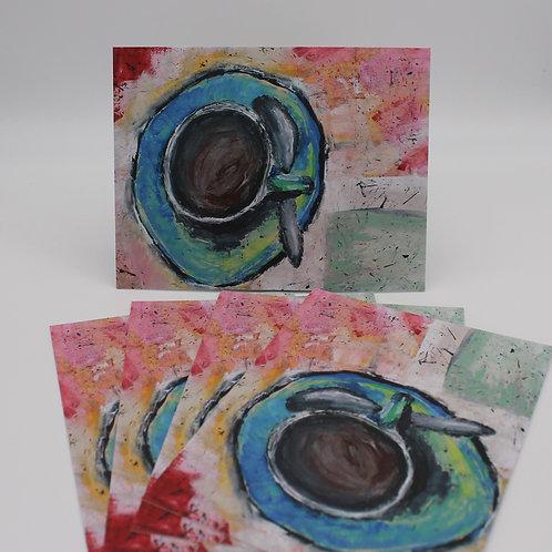 Morning Coffee Postcards