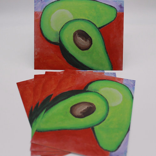 Avocado Season Stationery