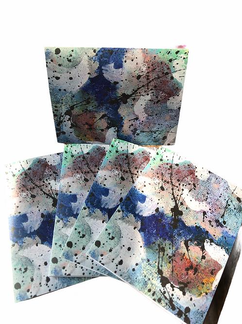 Mini Abstract Series No 26--Notecards
