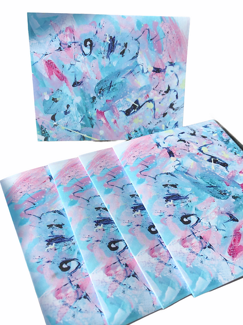 Mini Abstract Series No 44--Notecards