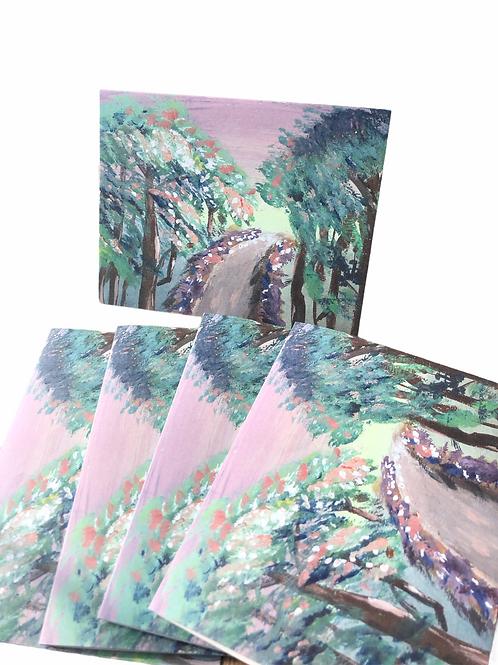 Mini Abstract Series No 10--Notecards