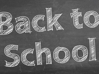 Wednesday 5th Sept - Back to School