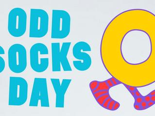 Odd Sock Day - Anti-bullying week - Mon 16th Nov