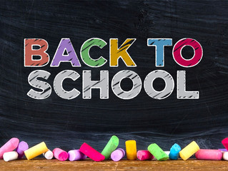 Weds 4th Sept - Back to School