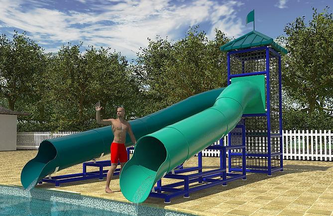 109 Pool Side Slide