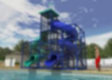 209 Pool Side Slide