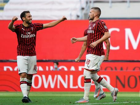 Milan tok en solid seier mot Roma