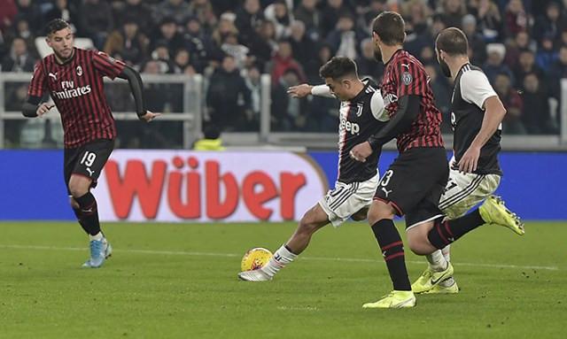 Dybala scorer mot Milan