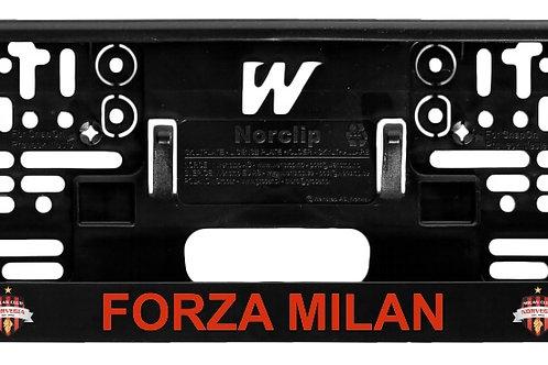 Skiltplate - Forza Milan