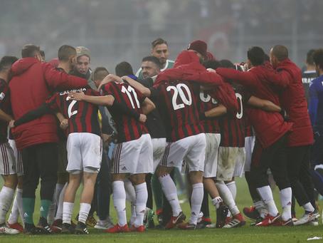 Kamprapport: Milan-Lazio (2-1)