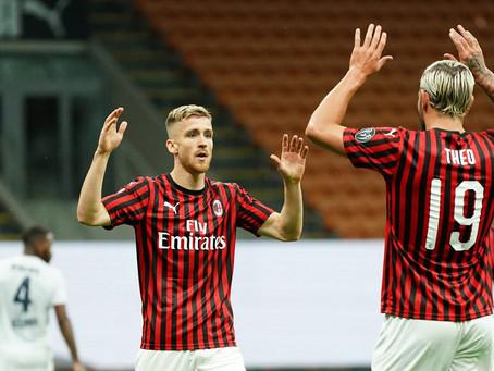 Milan feide Bologna av banen