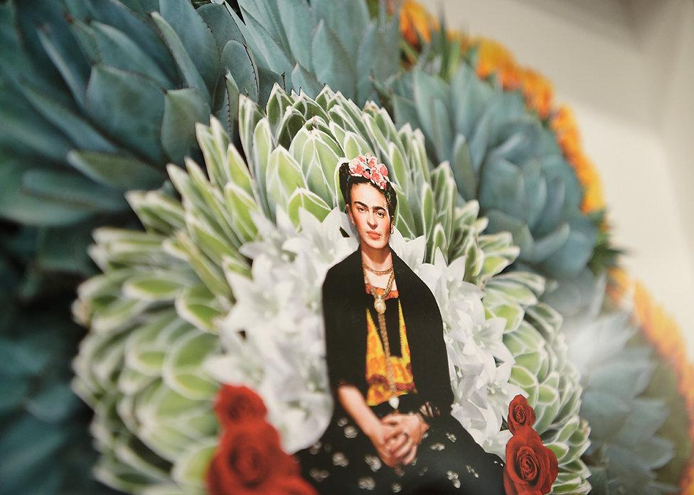 Mia Holton Frida collage close up