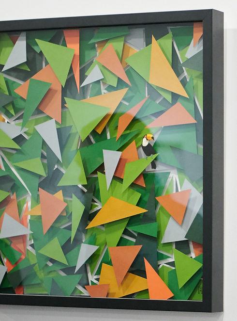 Mia Holton Toucan painting