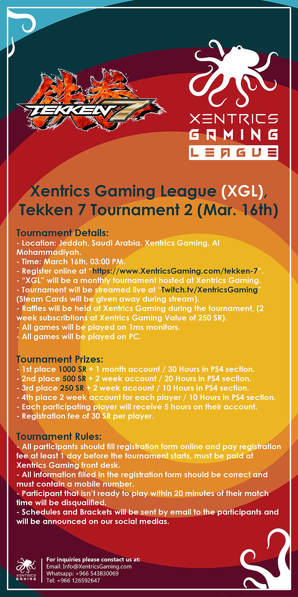 XGL, Tekken 7 Tournament 2
