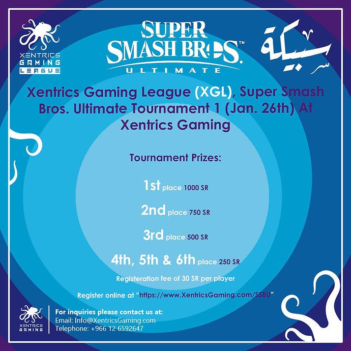 Xentrics Gaming, SSBU Tournament 1 + Sab