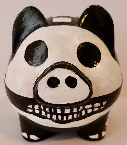 Skeleton Piggy Bank
