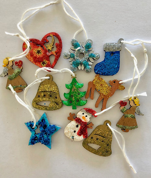 Miniature Xmas decorations