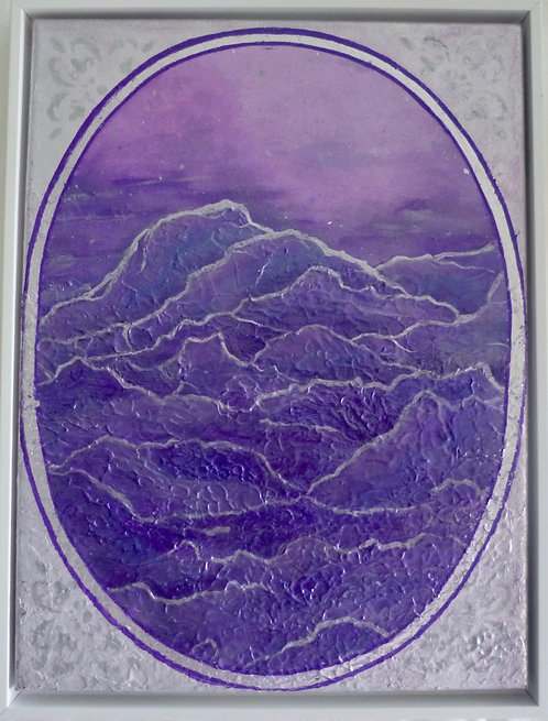 """Mountain Dream"" painting"