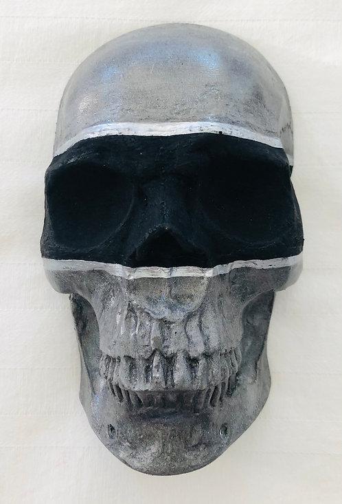 Grey & Black skull