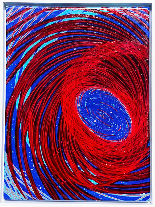 """Deep Space"" painting"