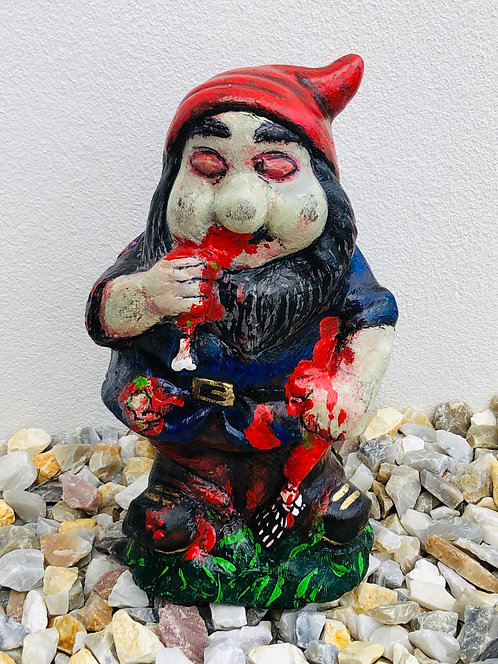 Zombie Gnome - glowing eyes