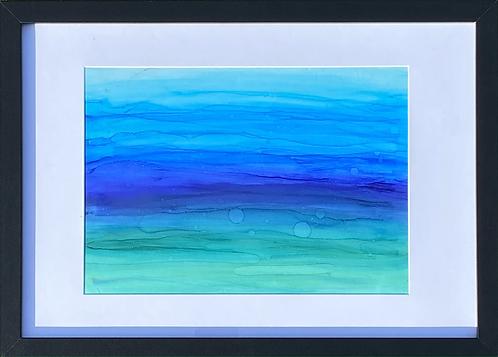 """""""Seaside"""" painting"""