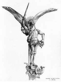 dessin archange St-Michel