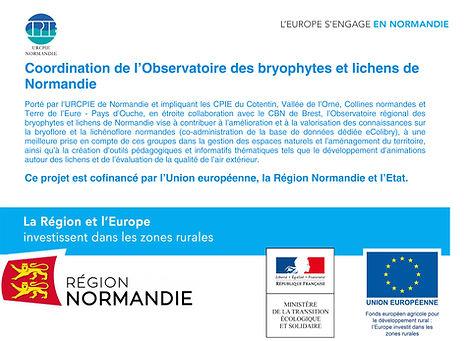 Observatoire Bryophyte et Lichens Normandie