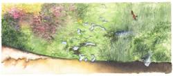 RN de Mathon - aquarelle