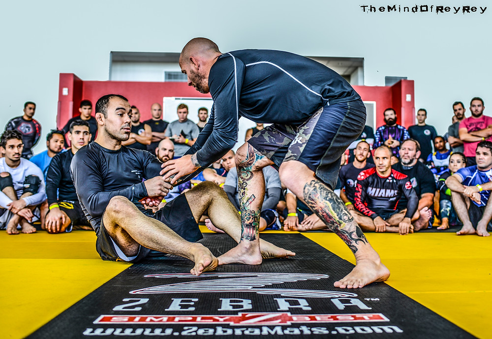 The World's Greatest Photographer The Mind of Rey Rey sponsors Century MMA & BJJ Legend Marcelo Garcia's Seminar