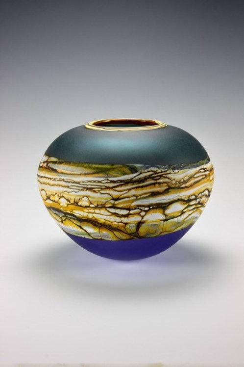 Sage & Cobalt Sphere