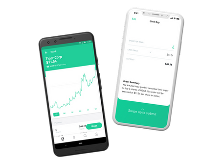 Learn, Buy, and Get Free Stock with Robinhood App