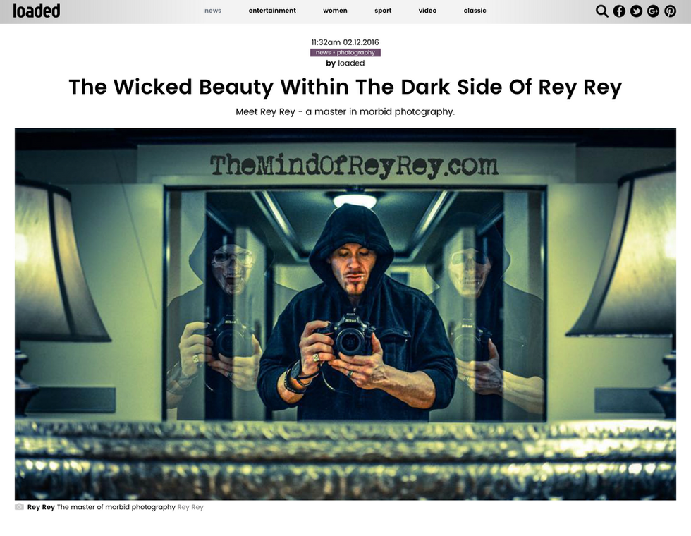 Loaded Magazine: The Wicked Beauty Within The Dark Side Of Rey Rey