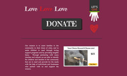 Non-Profit Website This site belonged to a Non pro-fit company. Conta...