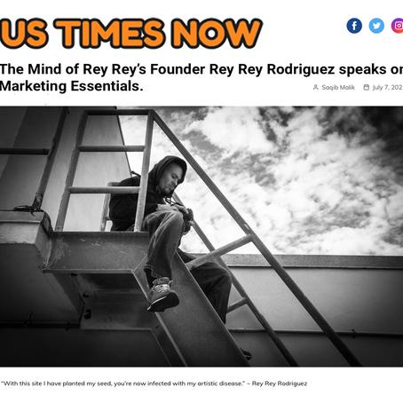 The Mind of Rey Rey's Founder Rey Rey Rodriguez speaks on Marketing Essentials.
