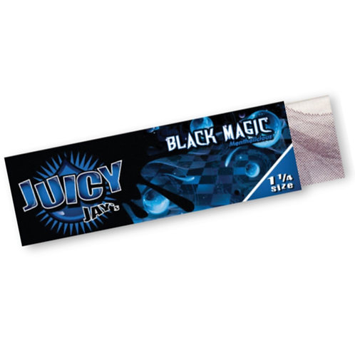 Juicy Jays Black Magic Rolling Papers 1 1/4