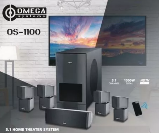 An image of the Cabrila Technology 5.1 Home Theater System